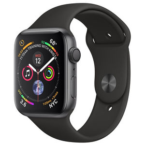 Watch Series 4 44mm Aluminum Case with Sand Sport Band