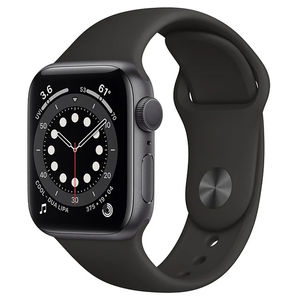 Watch Series 6 40mm Aluminum Case with Sand Sport Band